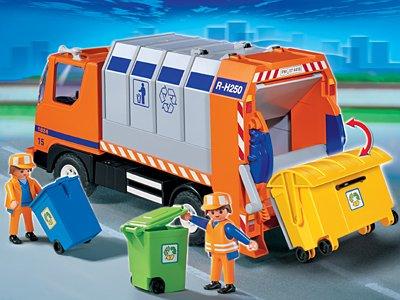 PLAYMOBIL® 4418 - Stadtleben Aktion - Müllabfuhr
