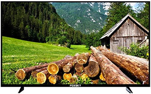 Foxsky 80 cm (32 inches) Full HD Smart LED TV 32FSELS-PRO (Black) (2021 Model)