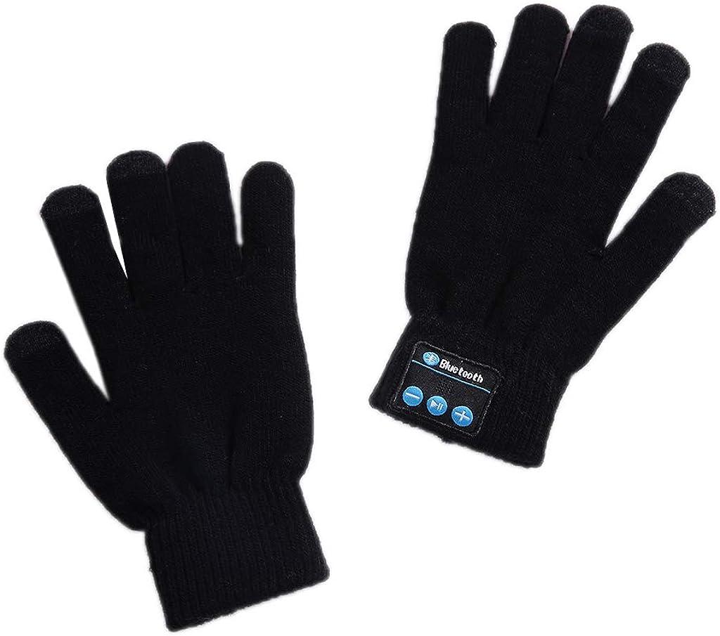 Dsxnklnd Bluetooth Gloves, Wireless Bluetooth Gloves, Winter Gloves TouchScreen Gloves
