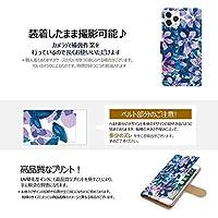 F.G.S Zenfone 4 max pro ZC554KL ケース 手帳型 カバー 耐衝撃 スマホケース おしゃれ かわいい 純正 人気 花柄 全機種対応 花2 フラワー 12496058