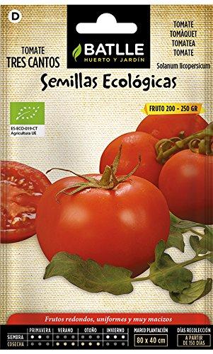 Semillas Ecológicas Hortícolas - Tomate Tres cantos- ECO -
