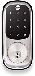 Yale Security YRD226ZW2619 Assure Lock Touchscreen Deadbolt with Z-Wave Plus, Satin Nickel