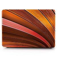 アップルのノートブック15インチ網膜木目塗装保護カバーに適用 VFPOPOc (Color : 04, Style : With logo cut-out)