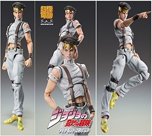 Medicos JoJo's Bizarre Adventure: Part 4--Diamond is Unbreakable: Rohan Kishibe Third Super Action Statue