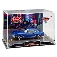 Disney カーズ 2・Brent Mustangburger 「ブレント・マスタングバーガー」 1/43スケールモデル(Disney Store限定品)