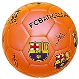 Balon Naranja Firmas FC Barcelona. Producto Oficial