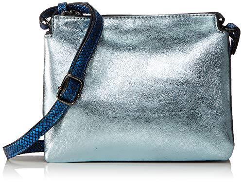 Bulaggi Cassia Crossover - Borse a tracolla Donna, Blu (Jeans Blau), 06x17x22 cm (B x H T)