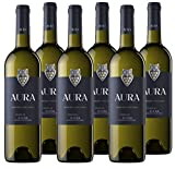 Bodegas Aura Vino Blanco Aura Verdejo (D.O.Rueda) - 6 botellas de 750 ml - Total: 4500 ml (41AURYYC063ZZZ)