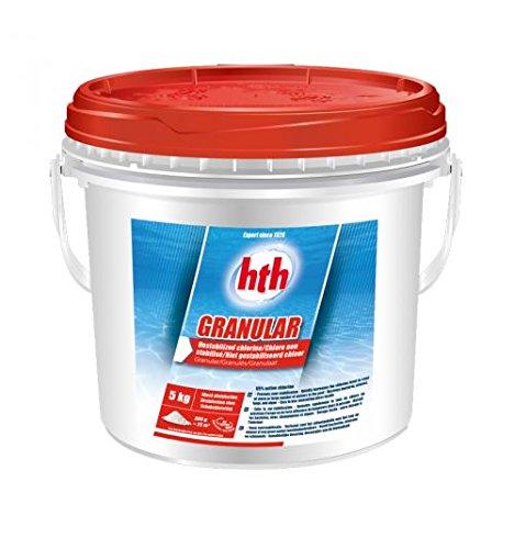 Hth Granular - Chlore Choc Non stabilisé Piscine - 5kgs (Poudre)