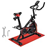 ReaseJoy Flywheel Spin <span class='highlight'>Exercise</span> Bike <span class='highlight'>Indoor</span> Aerobic Training Spining Bicycle Cycling Fitness Cardio Machine