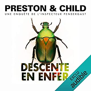 Descente en enfer     Pendergast 12              De :                                                                                                                                 Douglas Preston,                                                                                        Lincoln Child                               Lu par :                                                                                                                                 François Hatt                      Durée : 15 h et 28 min     40 notations     Global 4,7