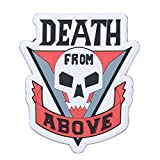 Violent Little Machine Shop'Death From Above' Starship Troopers Morale Patch