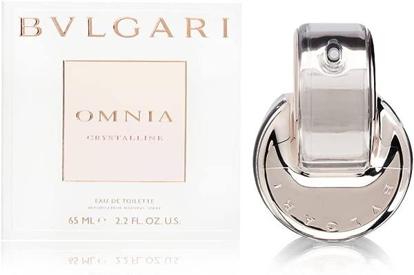 Bvlgari Omnia Crystalline For Women Eau De Toilette Spray 2 2 Fl Oz
