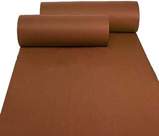 YANZHEN Hallway Runner Rugs Corridor Carpet Entryway Rugs Disposable Non-Slip 2mm Thick Moisture Proof Stage, Brown, Custo...