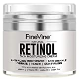 Retinol Moisturizer Cream for Face and Eye Area - Made in USA - with...