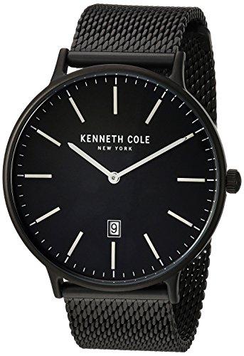 Kenneth Cole Reloj analógico para Hombres de Cuarzo con Correa en Acero Inoxidable KC15057012