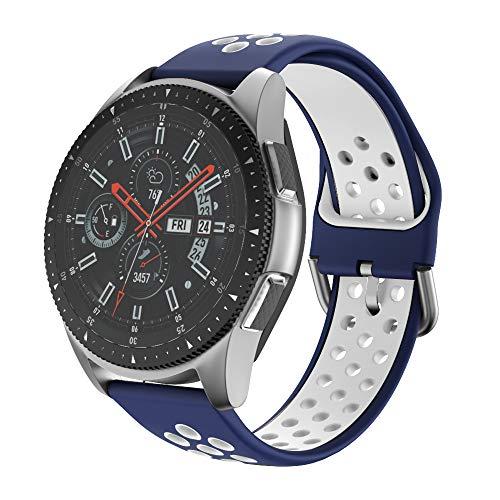 Ishim Correa de Reloj para Galaxy Watch 46mm, 22mm Pulsera Deportiva de...