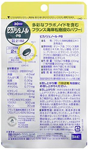ピクノジェノール-PB30日分
