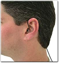 Sound Professionals LOW NOISE IN-EAR BINAURAL MICROPHONES - HIGH SENSITIVITY - Black Cables with Straight Connector