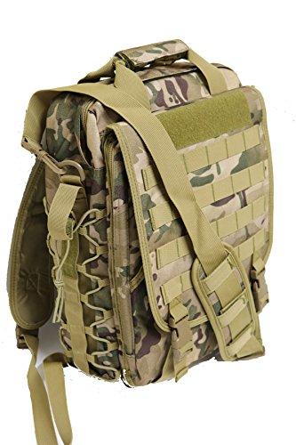 Multifunction Military Tactical Laptop Case/Bag (Multicam)