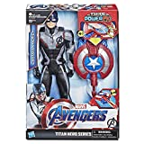 Marvel Avengers – Figurine Marvel Avengers Endgame Titan Power FX – Captain America et Power...