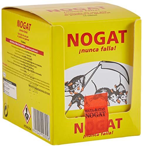 Nogat Raticida, 15 sobres de 10 g
