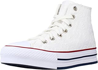 Converse Sneakers Chuck Taylor all Star Eva, White Garnet Midnight Navy, Donna