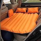 Warm halten Auto Luftmatratze, Auto Universal Tragbare Mobile Rücksitz Kissen Aufblasbare Bett...