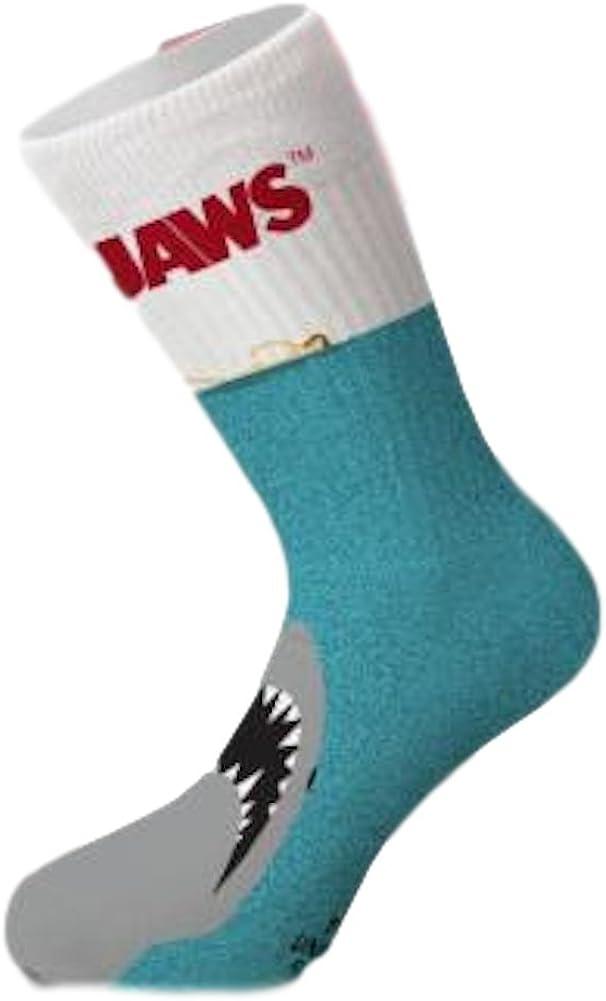 New Jaws Universal Studios Men/'s Great White Socks ODD SOX Crew Size 6-13