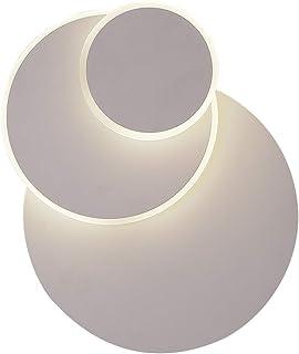 Applique Luna eclissi 3 in 1 lampada da parete solida moderna luce da muro semplice soggiorno corridoio balcone cromato ca...