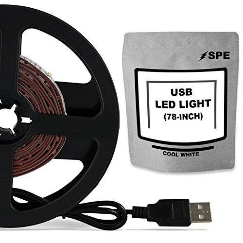 SPE Bias Lighting for HDTV - Medium (78in / 2m) - 6500k Cool...