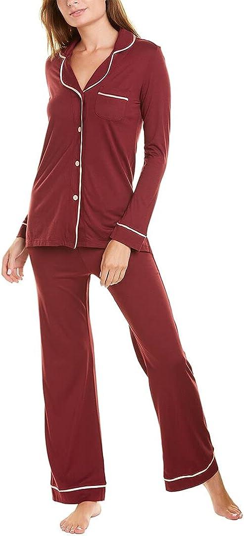 Cosabella Women's Bella Long Sleeve Top & Pants Pajama Set