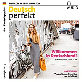 Deutsch perfekt Audio. 10/2018 Titelbild