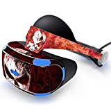 Beracah Skin Sticker for PS VR Skin Sticker Protector Cover Decal Fire Skull