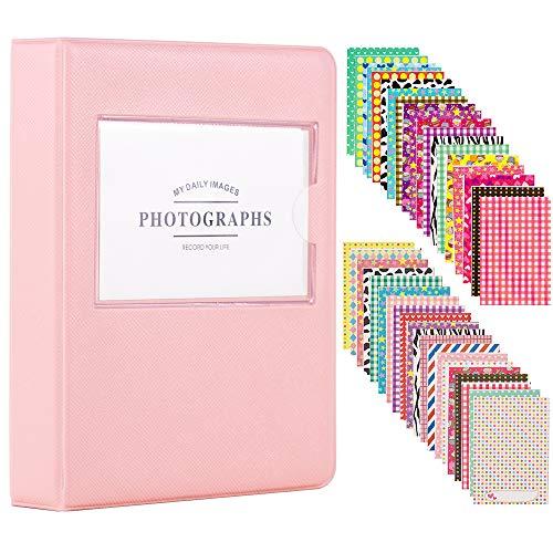 Best Prices! Ablus 64 Pockets Mini Photo Album for Fujifilm Instax Mini Camera, Link, Liplay, Polaro...
