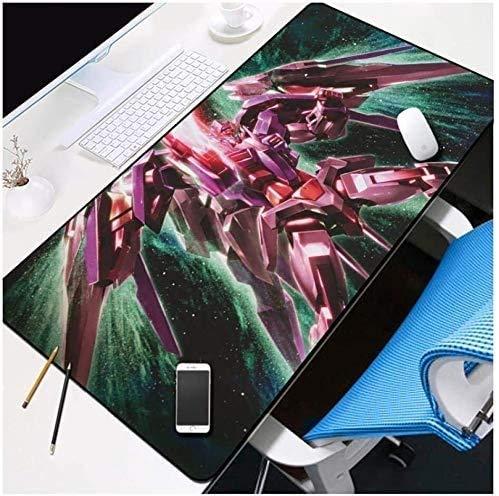ZDVHM Mech Warrior - Alfombrilla de ratón para juegos de gran tamaño para la oficina, el hogar y la oficina, alfombrilla antideslizante para ratón de mesa (color: L, tamaño: 800 x 300 x 3 mm)