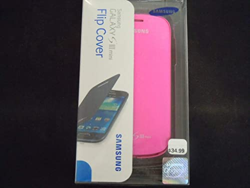 discount Samsung Galaxy S3 mini Case S View Flip Cover Folio new arrival - outlet online sale Pink (Discontinued by Manufacturer) outlet sale