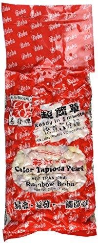 Rainbow Tapioca Pearls Boba Bubble Tea 2.2 lb by ADHealthyway