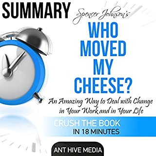 Summary: Spencer Johnson's Who Moved My Cheese? cover art