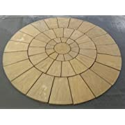 Stone Concrete Circle Patio Paving Set 3.0 Meters (DELIVERY EXCEPTIONS)