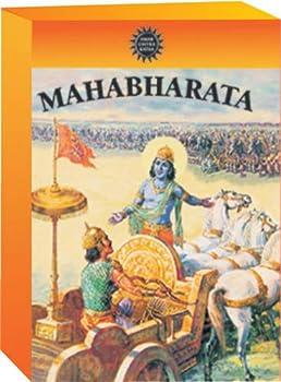 Mahabharata by Amar Chitra Katha- The Birth of Bhagavad Gita- 42 Comic Books in 3 Volumes  Indian Mythology for Children/regional/religious/stories