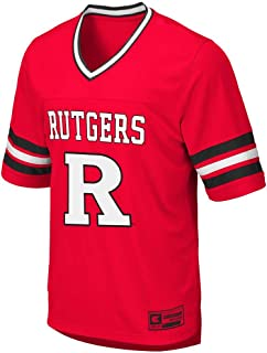 Colosseum Mens Rutgers Scarlet Knights Football Jersey