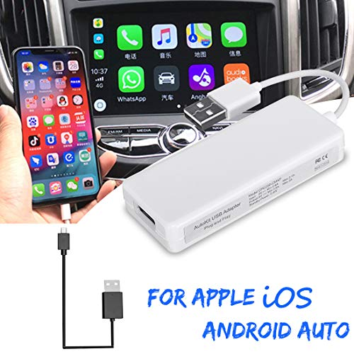 VIGORFLYRUN PARTS LTD USB Smart Car Link Dongle para Android Car Navigation para Apple iOS Module Auto Smart Phone USB Donlge Adapter
