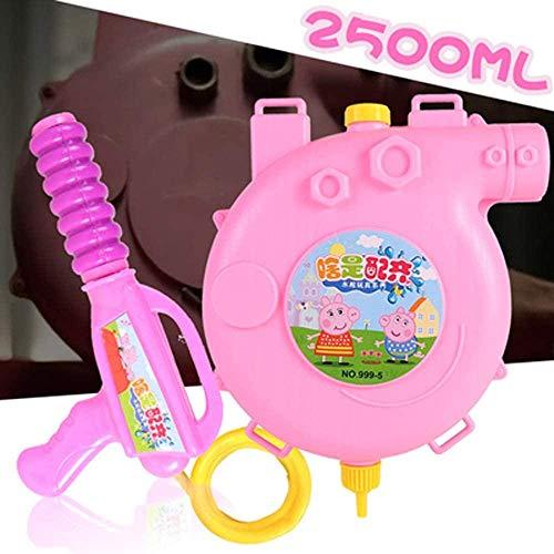 PRWJH Rucksack Wasserpistole für Kinder Nassspielzeug Wasserpistole Hochleistungs-Blaster Soaker Wasser Spritzpistole Pool Summer Beach Sand Wasserpistole Toy-Page_2.5L