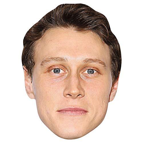 Celebrity Cutouts George MacKay (Brown Hair) Big Head