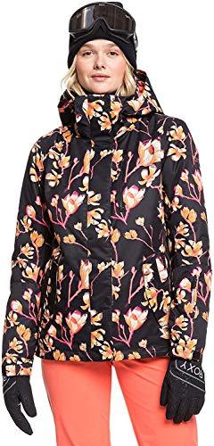 Roxy Damen Snow Jacke , true black magnolia, XS, ERJTJ03242