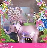 Barbie Island Princess KELLY Doll AA & TIKA Set w PURPLE Elephant (2007)