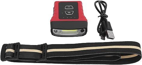 Koplamp Mini Hoed, Opladen Inductie Licht Hoed Clip Licht Inductie Sterke Licht Koplamp 180° Draaibare Mini Hoed Zaklamp L...