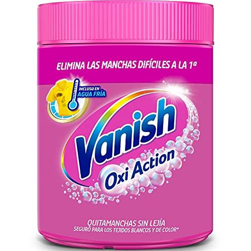 Vanish Oxi Action - Quitamanchas para Ropa Blanca y de Color, en Polvo, Sin Lejía - 900 g
