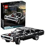LEGO Technic Dom'sDodgeCharger Fast & Furious, Modello di Auto da Corsa Iconico, Set di Costruzioni da Collezione, 42111